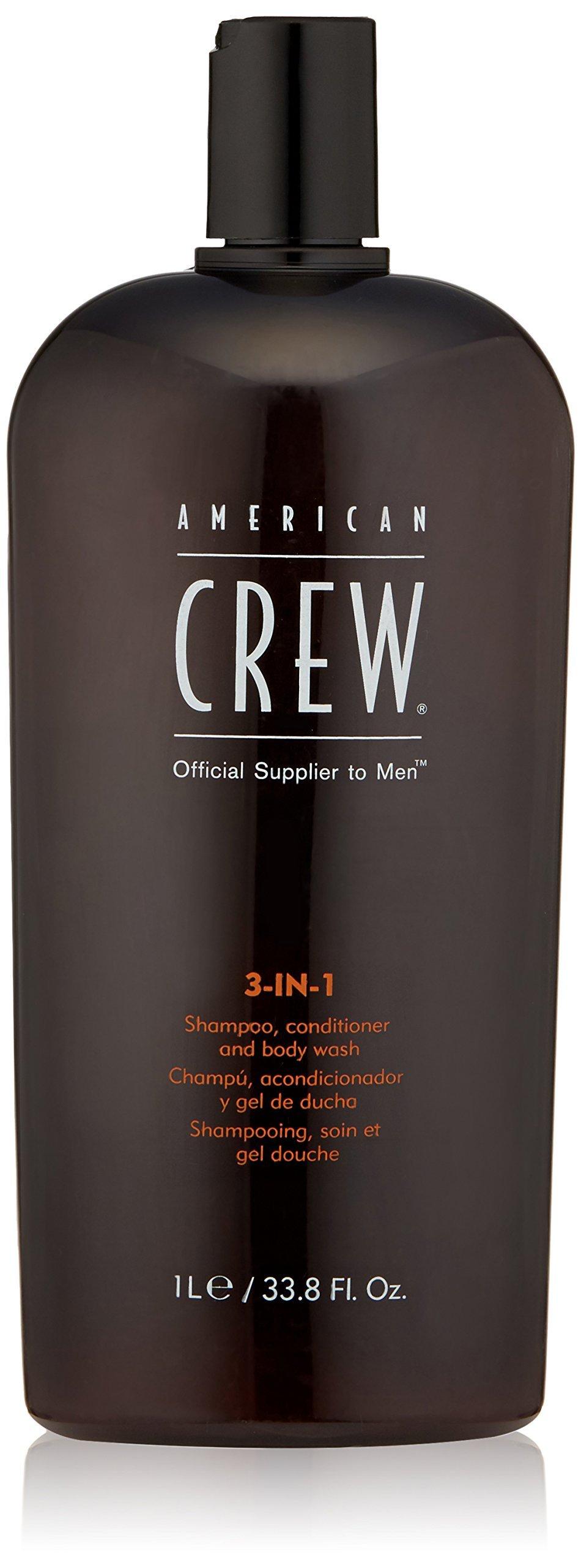 American Crew Classic 3-in-1 Shampoo Plus Conditioner, 33.8 Ounce