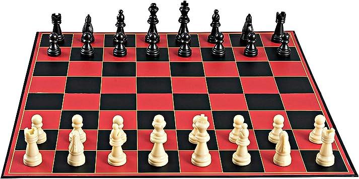 Point Games clásico de ajedrez, con súper Durable Tablero, el ...