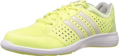 adidas Arianna III, Zapatillas de Cross Training para Mujer, Lima/Plata/Blanco, 36 EU: Amazon.es: Zapatos y complementos