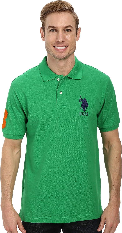 U.S Ultimate Pique Polo Assn Mens Traditoinal Collections Assn