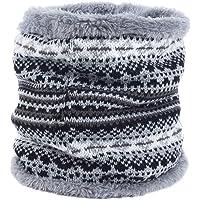 LAAT 1PCS Bufanda Bufanda Multiusos Invierno De Las Bufandas De Cuello Collar Bufanda Cuello de Cuello de Punto Navidad
