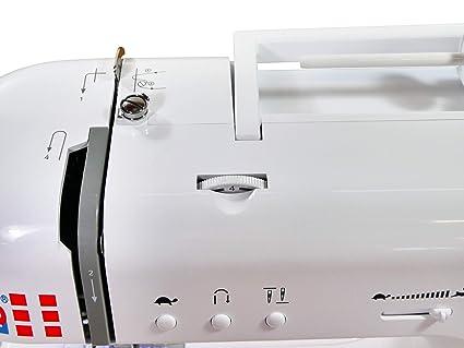 W6 N 2800 exclusiva de ordenador Máquina de coser - Costura, interconectar, para almazuela (200 programas) - 10 años de garantía: Amazon.es: Hogar