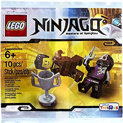 LEGO, Ninjago, Dareth vs. Nindroid Set [Bagged]: Toys & Games