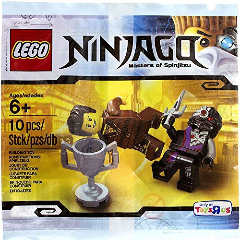 Amazon.com: LEGO Ninjago, dareth VS. Nindroid Set [Bagged ...