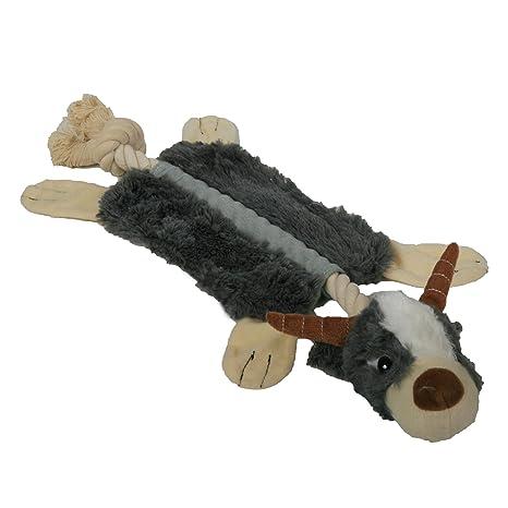 Ari/_Mao K/ünstliches Antilopen-Haut-Spielzeug-Pl/üsch-Haustier-Spielzeug-Hund kauen Molarspielwaren-wechselwirkende Spielwaren f/ür Hund