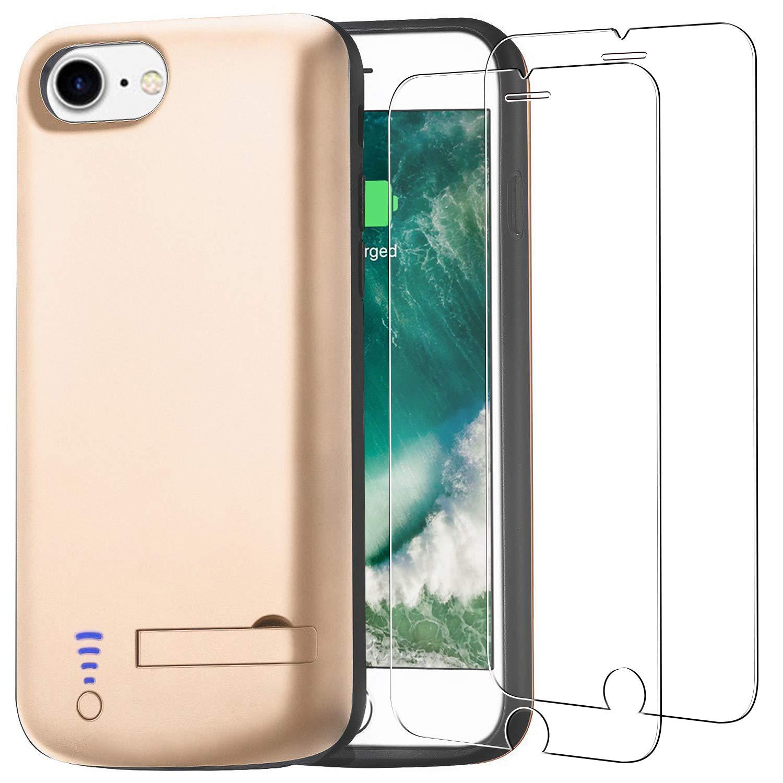 Funda Batería para iPhone 8/7/6S/6 [5500 mAh], PEYOU Carcasa Batería Portátil para iPhone 8, iPhone 7, iPhone 6S, iPhone 6