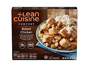Nestle Stouffers Lean Cuisine Comfort Classics Entree Baked Chicken, 8.23 Ounce -- 12 per case.