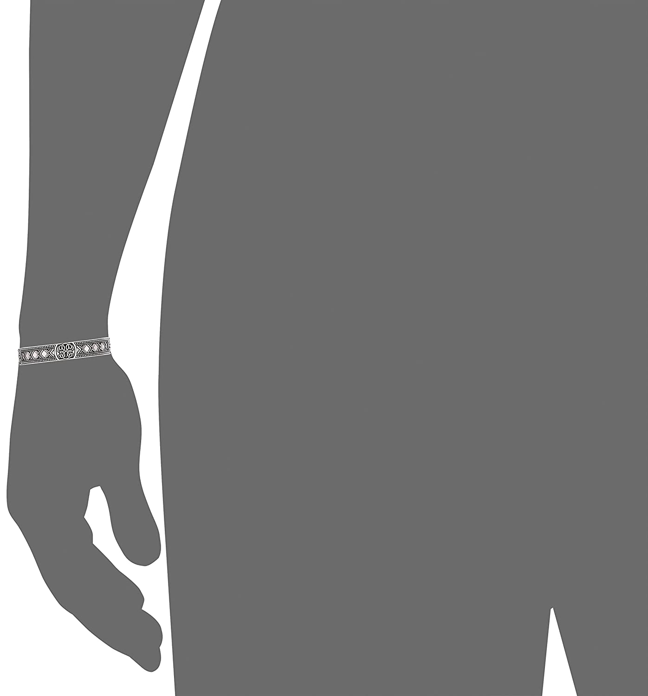 Expandable Alex and Ani Mens Path of Life Cuff Bracelet Rafaelian Silver