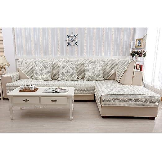 Amazon.com: Dream-catching 1Pcs Plaid Pattern Sofa Cover ...