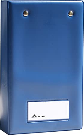 rnk blotter case for receipt book blue amazon co uk office products