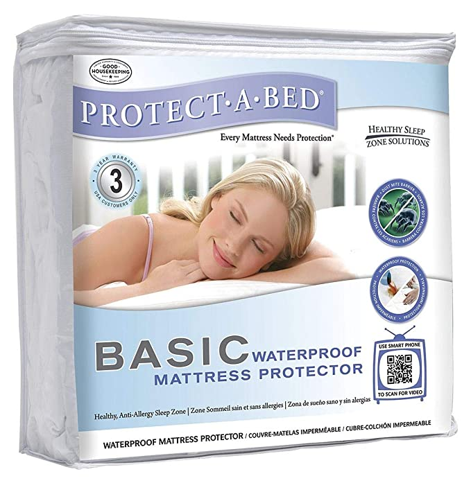 Amazon.com: Protect-A-Bed Full 100% Polyester Mattress Pad with 14