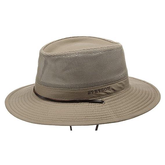 e32db2fa573 Stetson Takani Safari Hat bush trekking  Amazon.co.uk  Clothing
