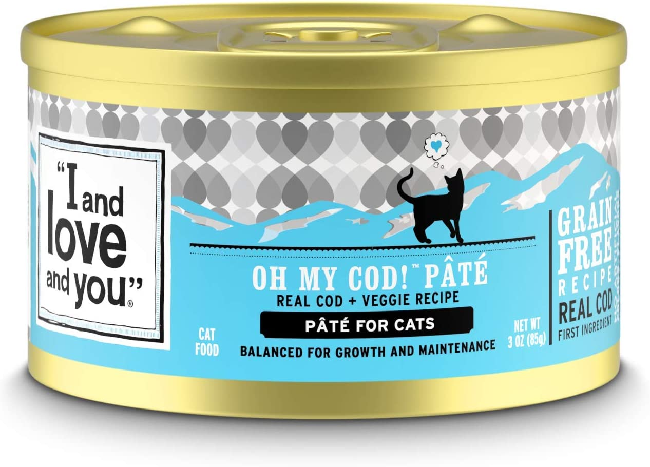 """""""I and love and you"""" Naked Essentials Canned Wet Cat Food - Grain Free, Canned (Variety of Flavors)"""