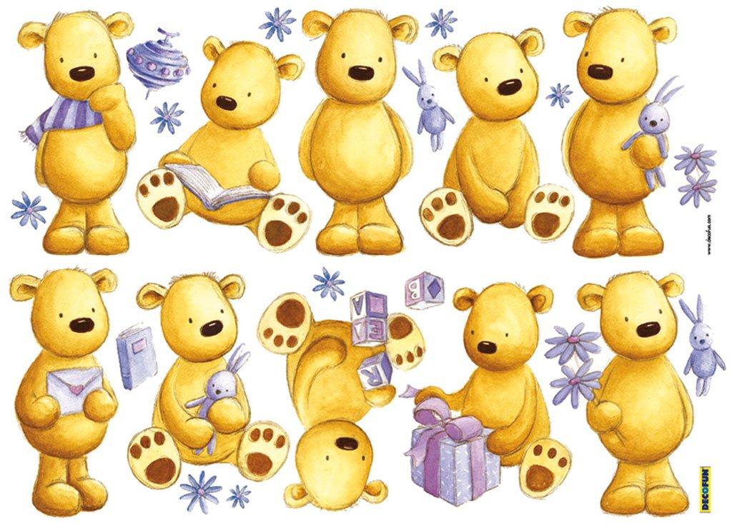 Teddy Bear Wall Stickers: Amazon.co.uk