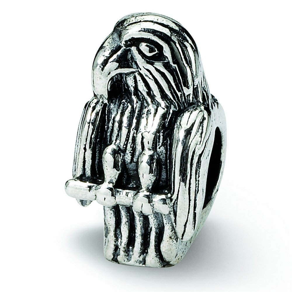 Sterling Silver Reflections Eagle Bead
