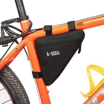 Amazon.com: Bicicleta bolsa de triángulo marco de la ...