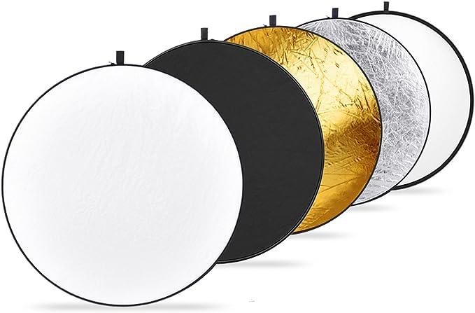 Neewer Tragbare 5 In 1 Faltbare Runde Multi Disk Licht Reflektor