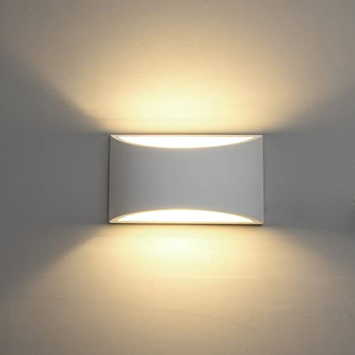 Indoor Wall Lights: DECKEY Wall Light LED Up And Down Indoor Lamp Uplighter