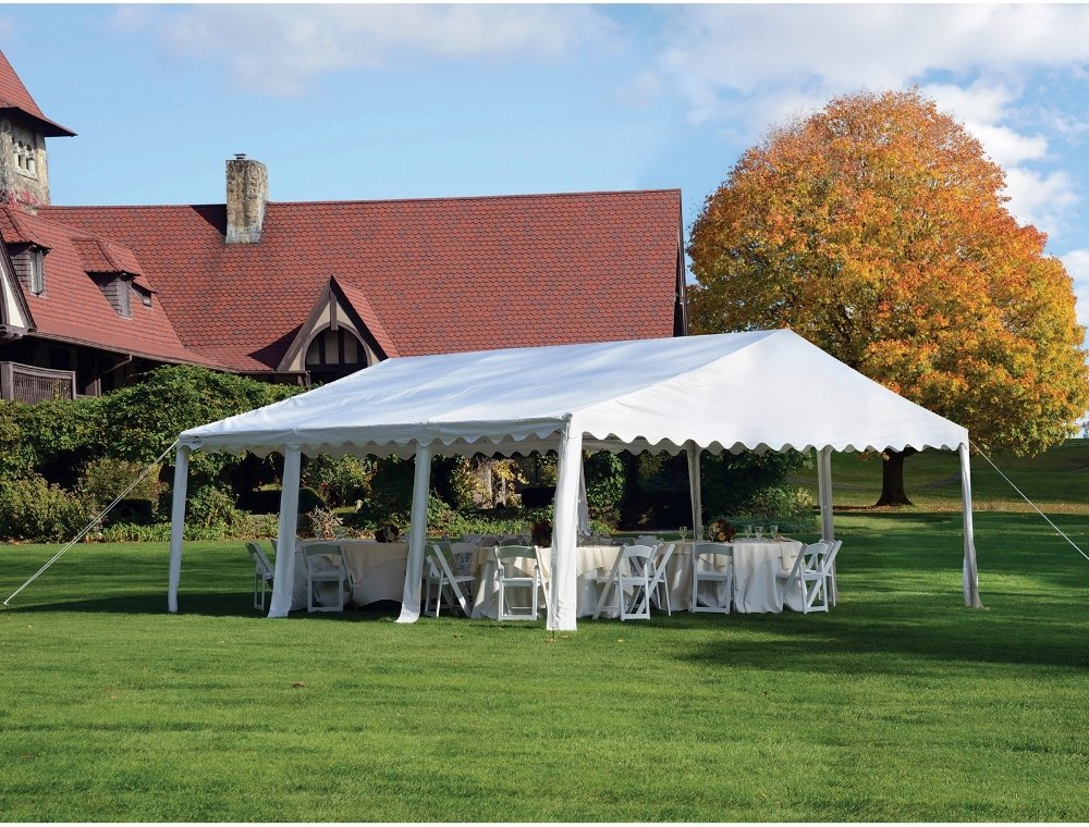Amazon Outdoor Party Canopy 20x20 Ft Gazebo Shelter Carport Waterproof Pop Up Tents Awnings Garden