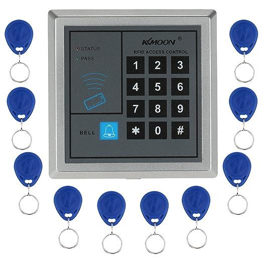 40 opinioni per KKMOON RFID di Prossimità Entrata con Porta Sistema di Controllo Accessi + 10