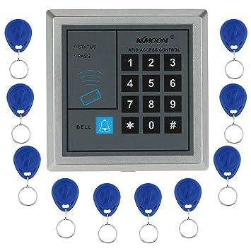 KKmoon Máquina de asistencia biométrico de huellas digitales y ...