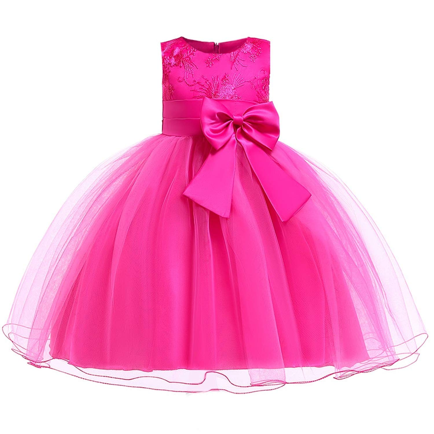 Girls Dress Summer Kids Dresses for Girl Princess Children Baby Tutu 2 3 4 5 6 7 8 9 10 Years,As Picture10,9
