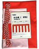 店頭装飾 紅白幕 [ テトロン H90cm×W540cm/3間 ]