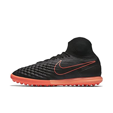 c98986831 NIKE Magistax Proximo II TF Mens Soccer-Shoes 843958-084 11 - Black Hyper