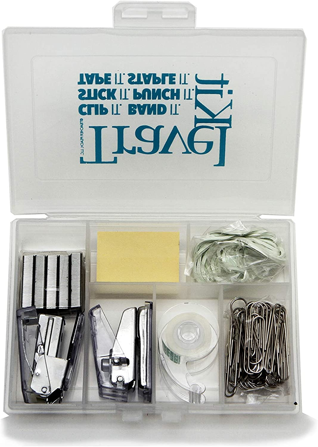 Mini Office Supplies Novelty Travel Kit Gift Set