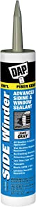 DAP 00807 Winder 807 Advanced Polymer Siding and Window Sealant, 10.1 Oz, Cartridge, Light Gray, Grey