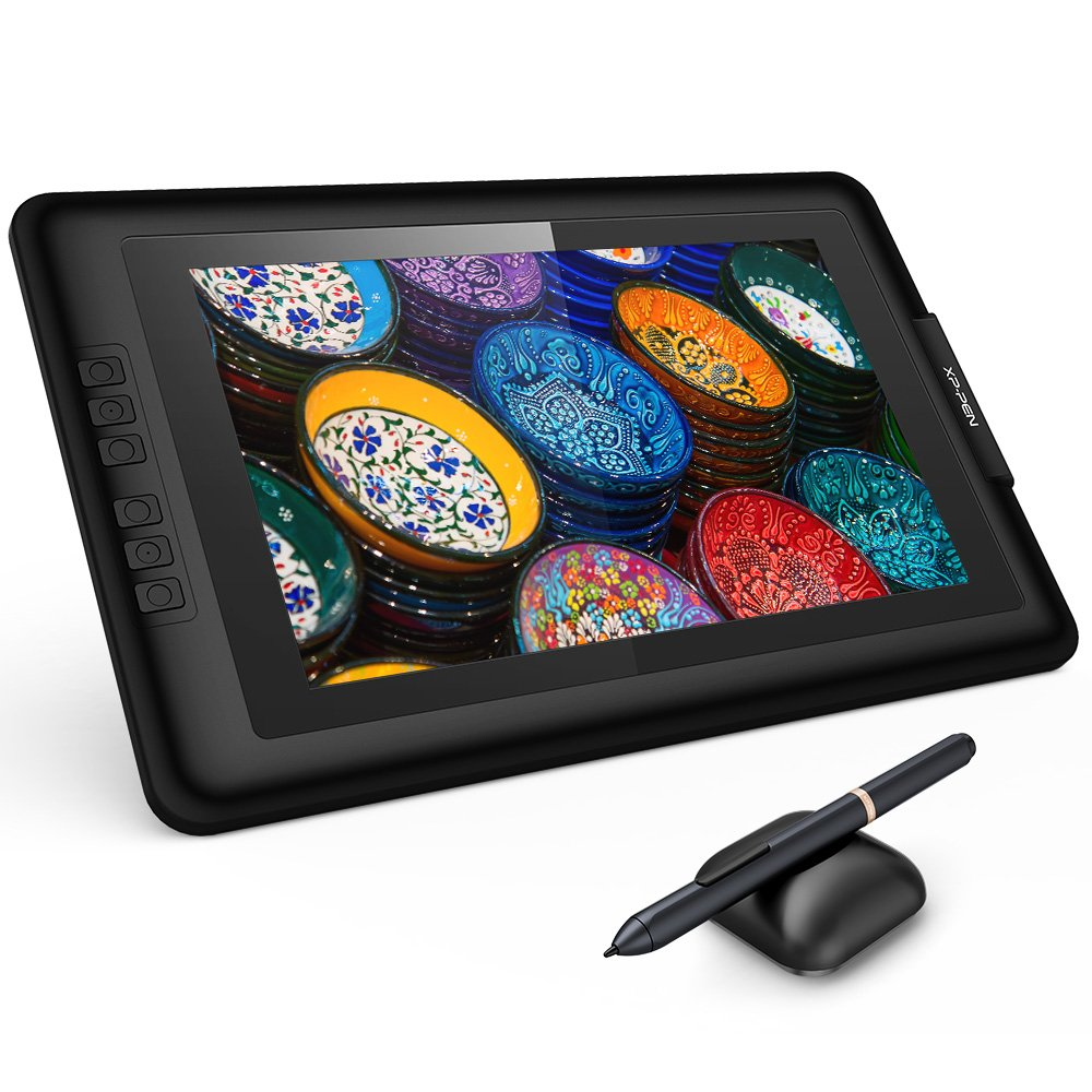 XP-Pen Artist 13.3 IPS Drawing Pen Display Graphics Drawing Monitor with Battery-free Stylus
