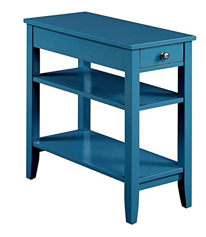 Brilliant Amazon Com Narrow End Table For Small Places With Drawer Andrewgaddart Wooden Chair Designs For Living Room Andrewgaddartcom