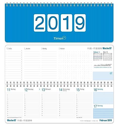 Tischkalender 2019 Wochenplaner Kalender Mit Sprüchen Und