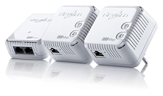 30 opinioni per Devolo dLAN 500 WiFi Network Kit- networking cards (Wired/Wireless, PowerPlug,