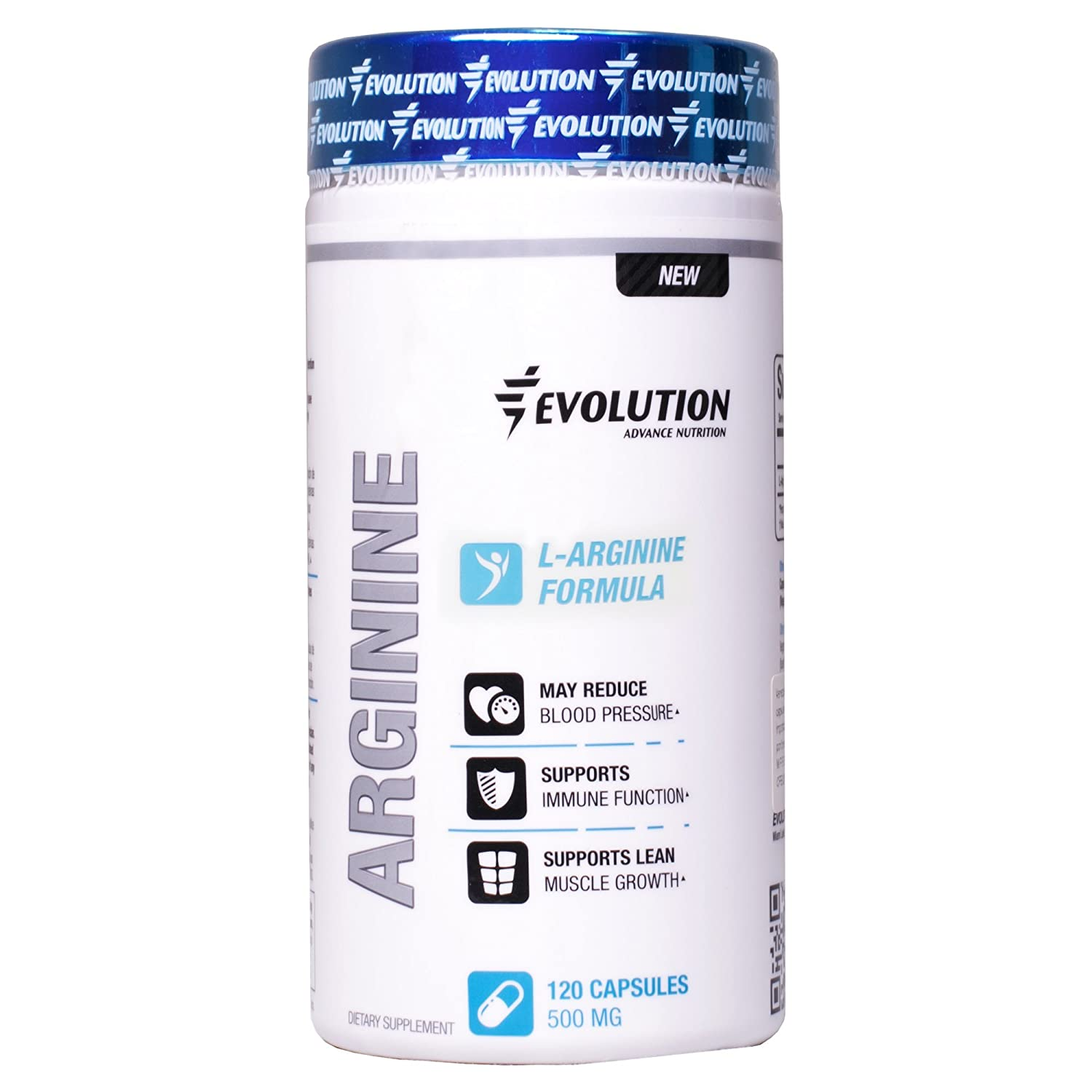 Amazon.com: Evolution Advance Nutrition Fermented L-arginine capsules (120 vegetarian capsules) dietary supplement 1,000mg per serving 60 day supply.