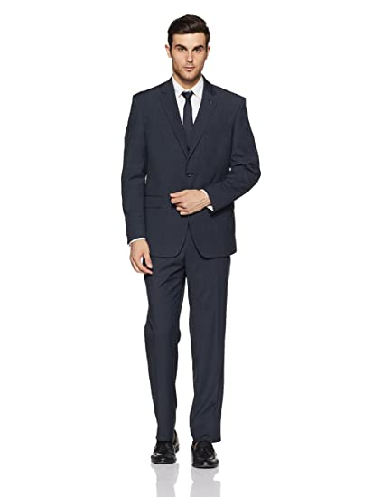 Louis Philippe Men's Suit Trousers Men's Suits & Blazers at amazon