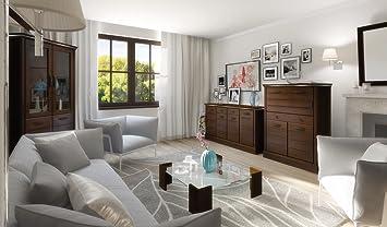 Hochwertige Wohnwand Schrankwand Wohnzimmer Möbel Lagos Ii Venge Led