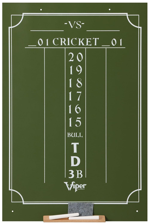 Amazon.com : Viper Chalk Scoreboard: Cricket and 01 Dart Games ...