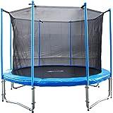FA Sports Gartentrampolin mit Sicherheitsnetz Flyjump Monster II, blau, 366 cm, 1221
