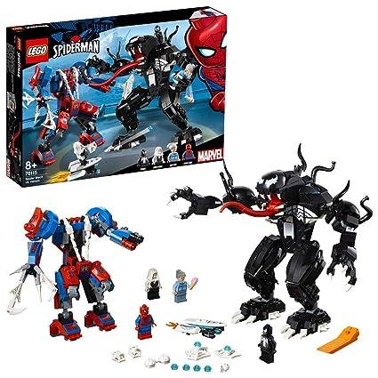 Construction Lego Marvel Heroes Man Jeu Robot Super Venom 76115 De Contre Le Spider rdeEQxCoBW