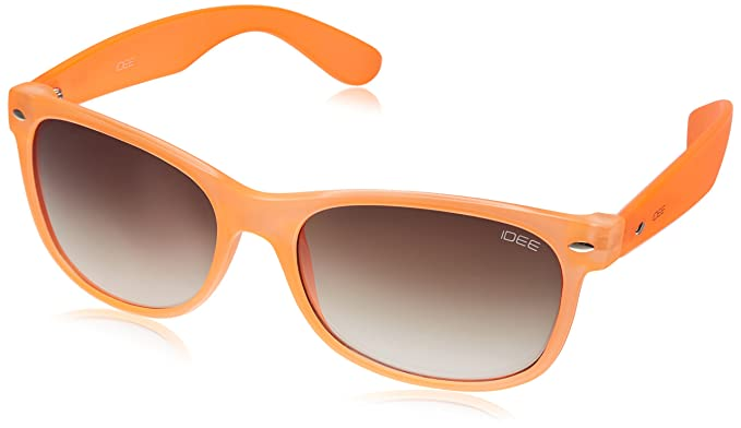 IDEE Wayfarer Sunglasses (IDS1844C4SG|100|Orange) <span at amazon