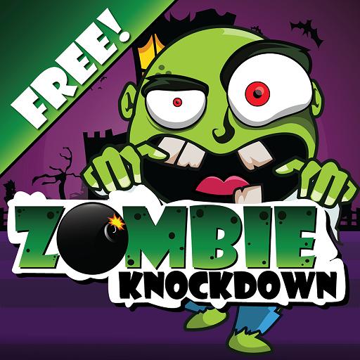 Zombie Knockdown (Aliens Vs Plants)