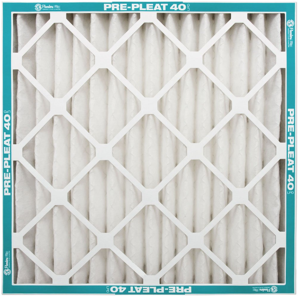 NaturalAire Pre-Pleat 40 Air Filter, MERV 8, 16 x 25 x 4-Inch, 6-Pack