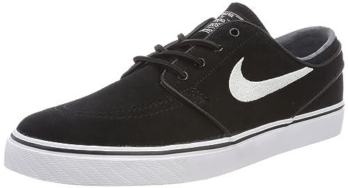 reputable site b6568 18823 Nike Men s Zoom Stefan Janoski Og Black White Gum Light Brown Skate Shoe 9.5