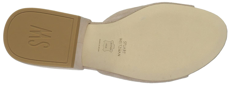 Stuart Weitzman Women's Decorslide Slide Sandal B01M69ABJF 5.5 B(M) US|Bisque
