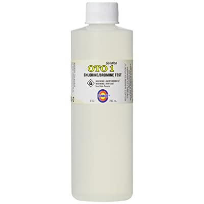 Pentair R161046 No.1 OTO Solution, 8-Ounce : Swimming Pool Liquid Test Kits : Garden & Outdoor