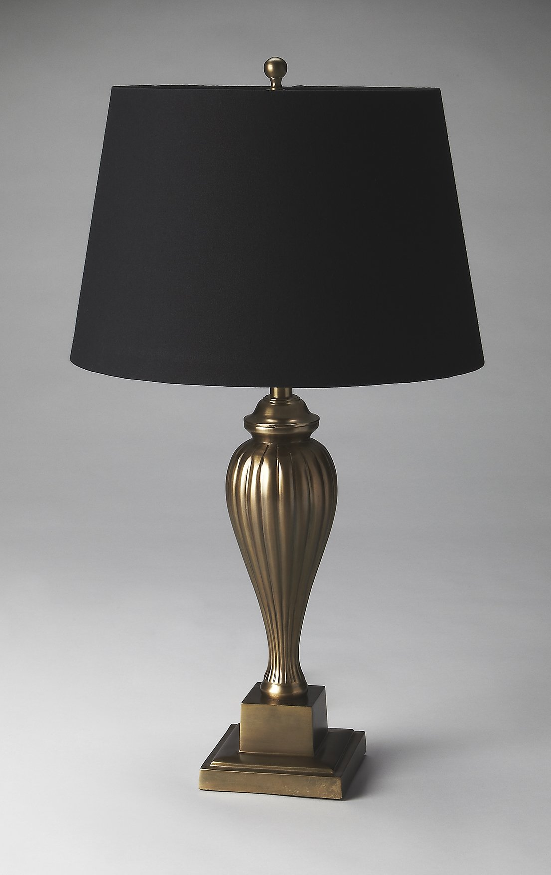 Table Lamp in Antique Brass Finish by Butler (Image #1)