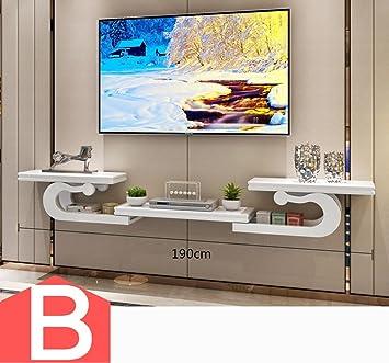 Full decoration CSQ Wandbehang TV-Schrank, Creative STB Rack ...