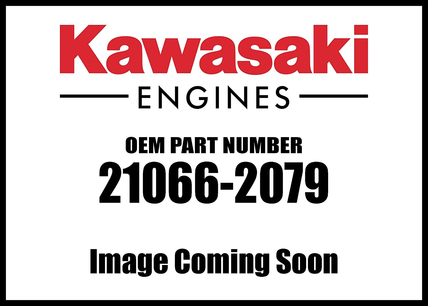 Kawasaki Engine Fd750d Regulator Voltage 21066-2079 New OEM