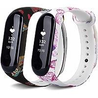 T-BLUER Voor Xiaomi Mi Band 3 Banden, Kleurrijke Vervangende Band Wirstband voor Xiaomi Mi Band 3/Mi Band 4 Band Smart…